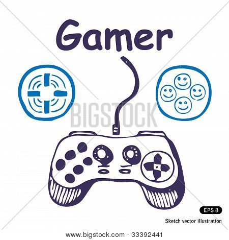 Gamepad and multiply icons