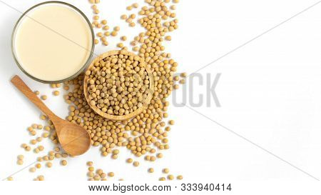 Soy Milk, Also Known As Soymilk And Soya Milk, Is A Plant-based Drink Produced By Soaking And Grindi
