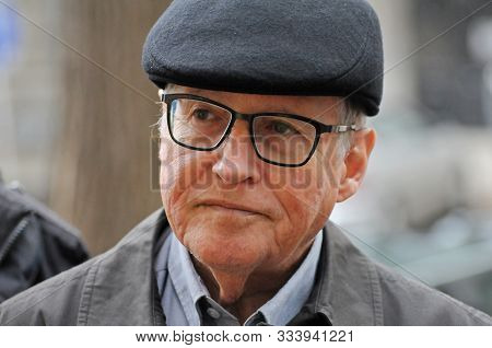 Odessa, Ukraine. November 3, 2019. A Closeup Portrait Of Elyakim Rubinstein, A Former Vice President