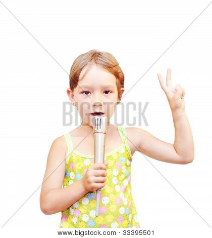 The Child And Microphone
