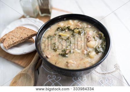 Sausage And Kale Zuppa Toscana Italian Creamy Soup