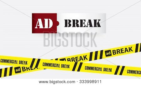 Enclosing Yellow Ribbon - Commercial Break And Ad Break