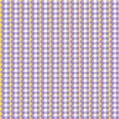Checked purple background or wallpaper with fabric texture, decorated with ric-racs, plus seamless pattern included in swatch palette (pattern fill expanded) poster