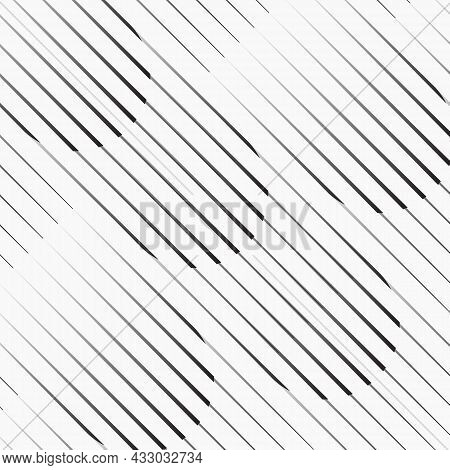 Linear Vector Pattern, Repeating Thin And Thick Line With Circle Shape. Pattern Is Clean For Fabric,