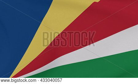 Flag Seychelles Patriotism National Freedom , 3d Illustration