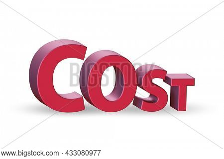 Cost optimisation concept with falling costs