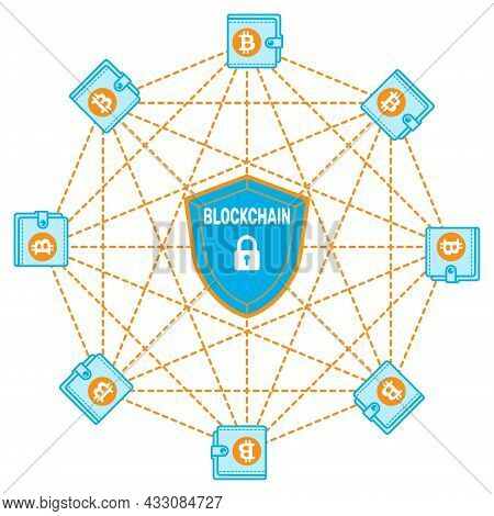 Vector Design Of Bitcoin Network And How Secure Is The Blockchain Algorithm