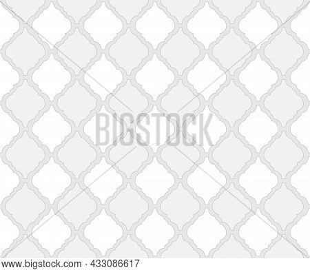 Arabic Style Tile Pattern As Arabesque Background For Islamic Or Moroccan Seamless Fabric Textile Ba