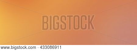 Abstract Gradient Color Background. Orange Color Mix With Peach And Cantaloup Yellow. Background Col