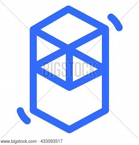 Fantom Ftm Token Symbol Of The Defi Project Cryptocurrency Logo, Decentralized Finance Coin Icon Iso