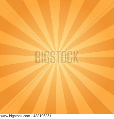 Sunbeam Ray Sunburst Abstract Background For Graphic Design, Logo, Website, Social Media, Mobile App