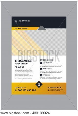 Creative Stylish Corporate Business Flyer Image Template