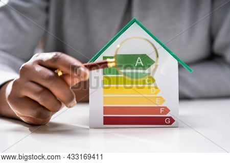 Energy Efficiency Building Inspection. Environmentally Friendly House
