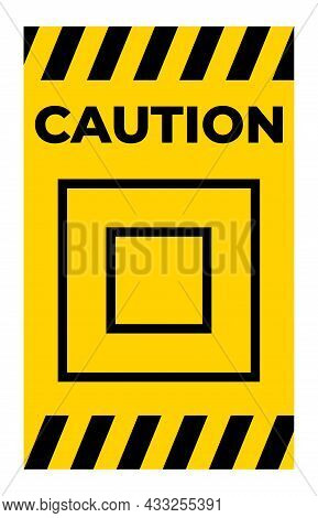 Class Ii Equipment Symbol Sign, Vector Illustration, Isolate On White Background Label. Eps10