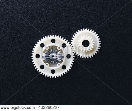plastic gears with differential, rc car toy spare parts