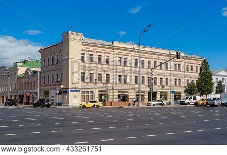 Former Profitable House Built In 1905, Architect Roman Klein, Landmark: Moscow, Russia - August 23,