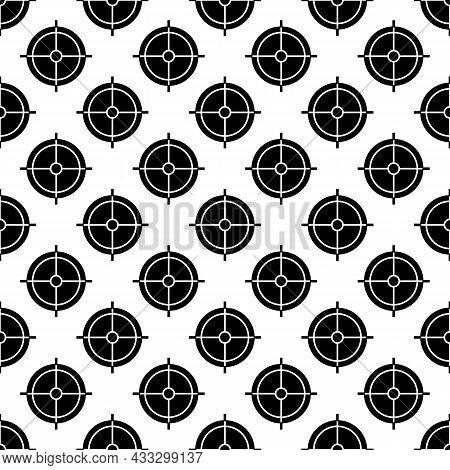 Periscope Crosshair Pattern Seamless Background Texture Repeat Wallpaper Geometric Vector