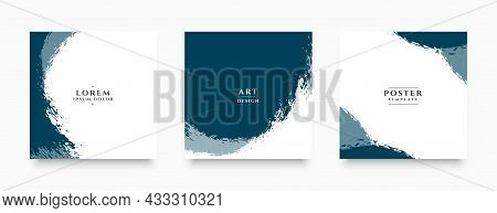 Abstract Grunge Banners For Social Media Post And Stories