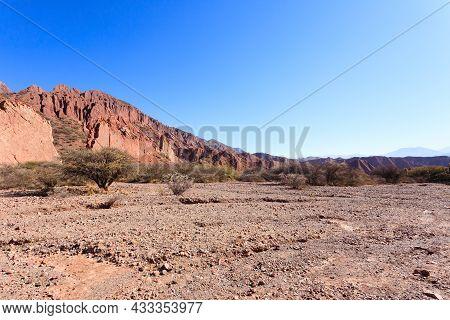Bolivian Canyon Near Tupiza,bolivia.quebrada De Palmira,puerta Del Diablo.