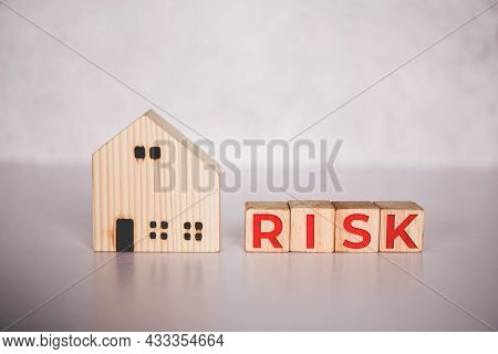 Planning With Finance And Investment For Strategy Of Business About Real Estate With Risk, Uncertain