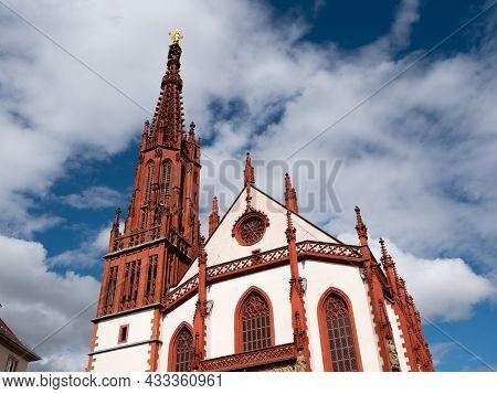 Marienkapelle Or Chapel Of The Virgin Mary In Wuerzburg, Franconia, Bavaria, Germany