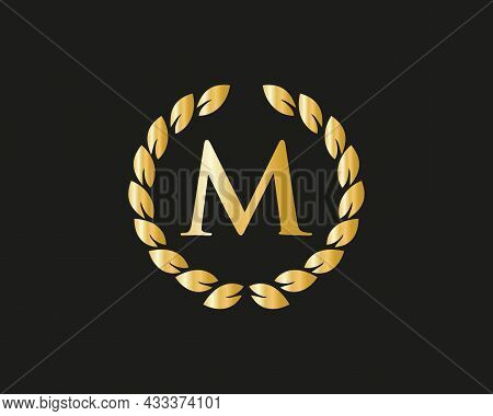 Modern M Logo With Luxurious Concept. M Luxury Logo Template In Vector For Restaurant, Royalty, Bout