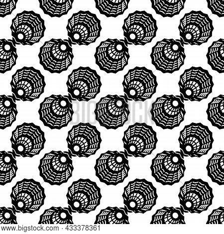 Plastic Shuttlecock Pattern Seamless Background Texture Repeat Wallpaper Geometric Vector
