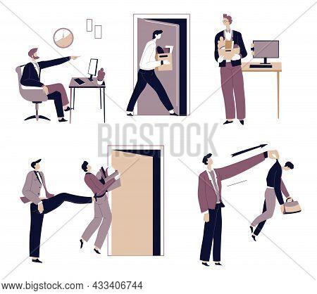 Employer Fire Employee, Director Or Boss Dismissal