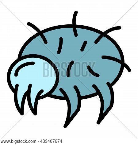 Wild Mite Icon. Outline Wild Mite Vector Icon Color Flat Isolated