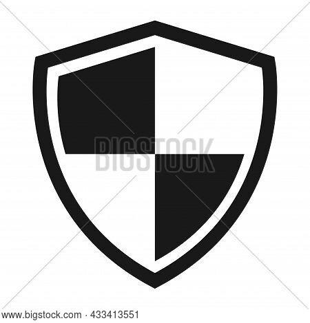 Shield Protect Icon, Safety Symbol, Defense Logo, Web Button, Internet Security .