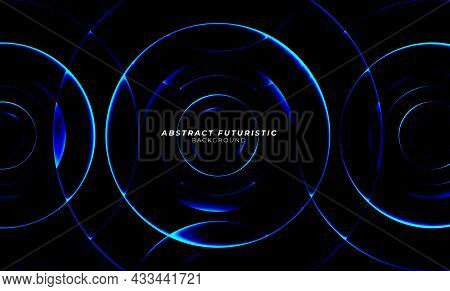 Art Circle - Background Abstract Design Art Circle Elements Technology. Abstract Futuristic Backgrou