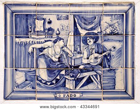 Portuguese Decorative Tiling