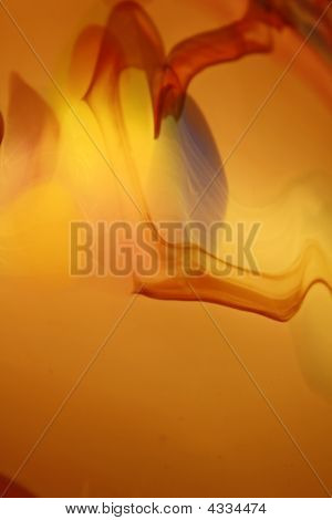 Orange Glass Design