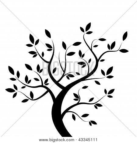 Vector black tree