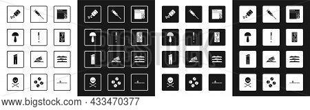 Set Buying Drugs Online, Pipette, Psilocybin Mushroom, Medicine Bottle And Pills, Phone, Syringe, Co