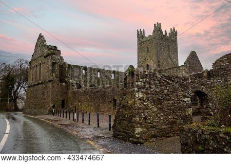 Jerpoint Abbey Ruine In County Kilkenny, Ireland