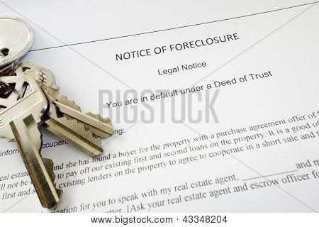 Foreclosure Keys