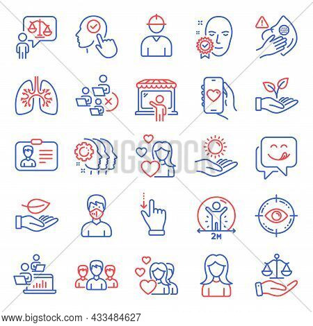 People Icons Set. Included Icon As Woman, Select User, Remove Team Signs. Engineer, Touchscreen Gest