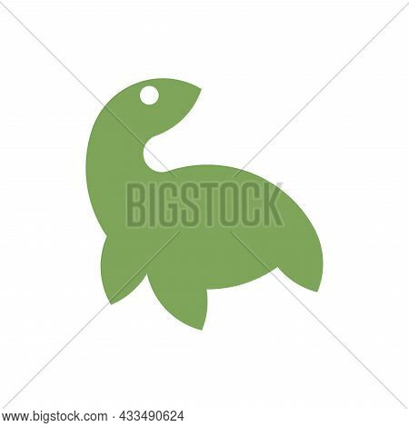Vector Turtle In Golden Ratio Style. Editable Illustration
