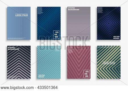 Vector Minimalistic Abstract Contemporary Templates, Posters, Placards, Brochures, Banners, Flyers,