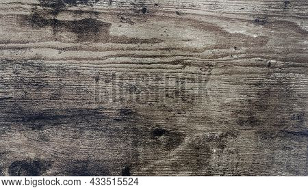 Close-up Brown Rustic Wood Grain Textured Background