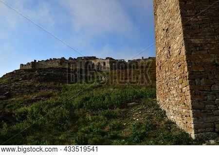 Kharkaroi Village And Battle Tower. Chechnya. Russia