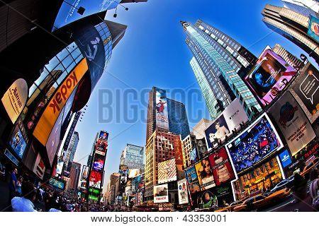 Times Square es un símbolo de la ciudad de Nueva York