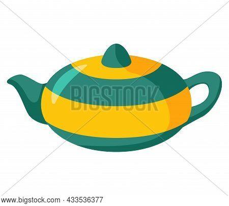 The Teapot Is Ceramic.kitchen Appliances Tools.kettle Decorative Ceramic.