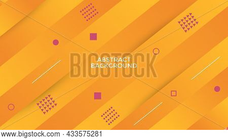 Abstract Orange Background Of Gradient Smooth Background Texture On Elegant Rich Luxury Background Web Template Or Website Abstract Background Gradient Or Textured Background Orange Paper.