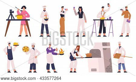 Cooks, Chefs, Sommelier, Food Critic And Food Bloggers. Food Review, Restaurant Chef, Wine Sommelier