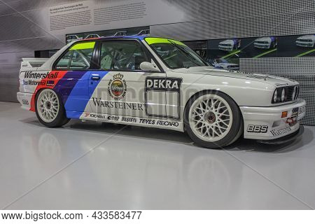 Bmw M3 E30 Side View. This Car Won The Dtm, Wtcc, Superturismo And Btcc In The Late 1980s. Bmw Museu