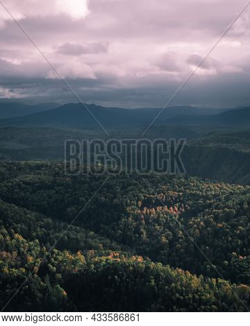 Photography Of The Green Valley And Mountains