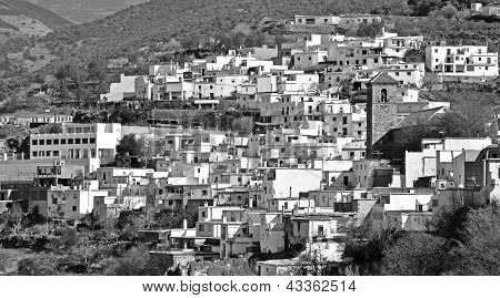 A little Moorish village in the Alpujarra