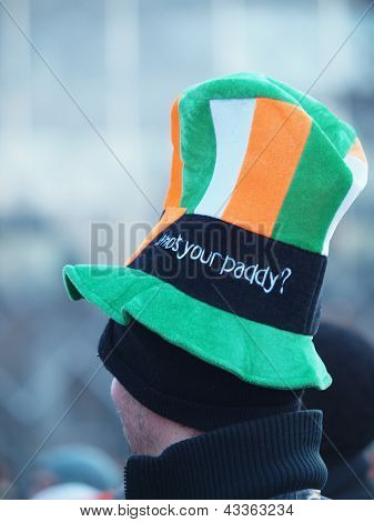 Colourful Hat At St. Patrick's Day
